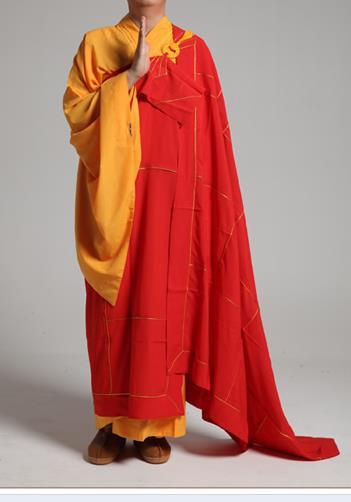 Áo (Y) cà sa Đài Loan dành cho chư Tăng màu đỏ.